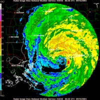 Hurricane Ivan - Cat 3 @ landfall in Baldwin County, AL Sept 16, 2004