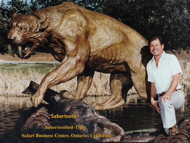 sabertooth tigers were native to north and south america