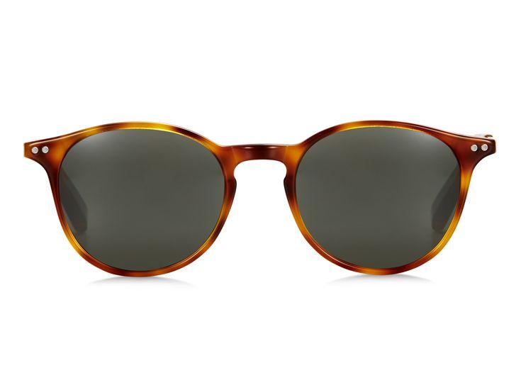 Bailey Nelson – Markova Honey Tort sunglasses featuring thin acetate frame and minimalistic metal arms. baileynelson.com.au