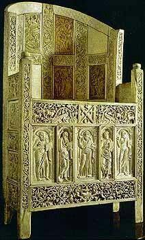 Maximianus trónja (ravenna 545-550),