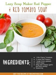 red pepper and tomato soup recipe