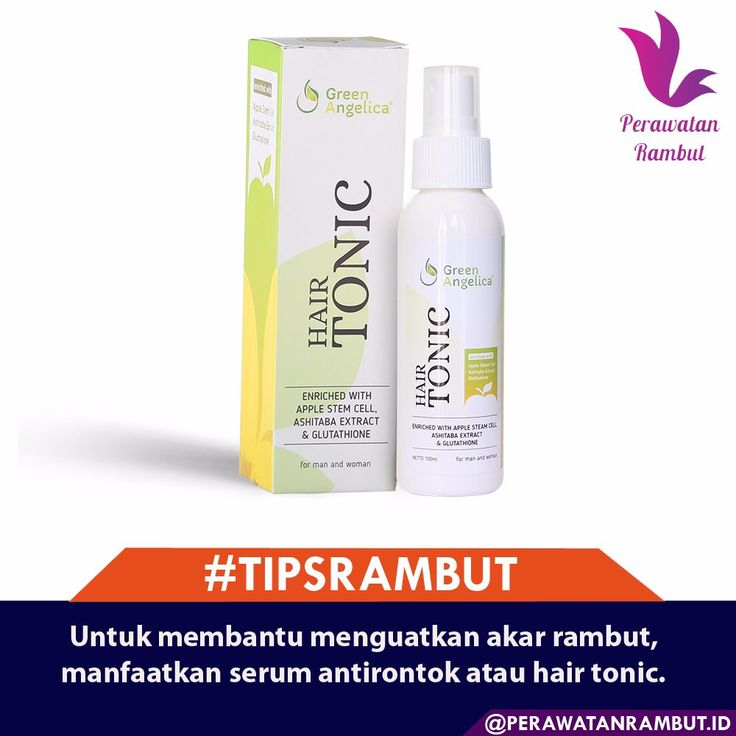 Untuk membantu menguatkan akar rambut, manfaatkan serum antirontok atau hair tonic. Hair tonic dapat digunakan setiap habis keramas, sedangkan serum antirontok cukup dua minggu sekali. #tipsrambut  #masalahrambut  #tipsrambutrontok  #kecantikanwanita  #tipsrambutsehat