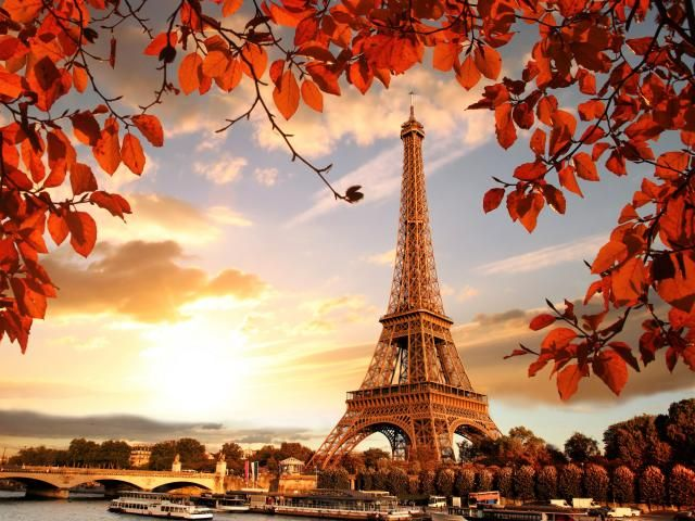 Eiffel Tower In Autumn France Paris Fall Wallpaper Hd City 4k Wallpapers Images Photos And Background Paris Wallpaper Eifel Tower Fall Wallpaper