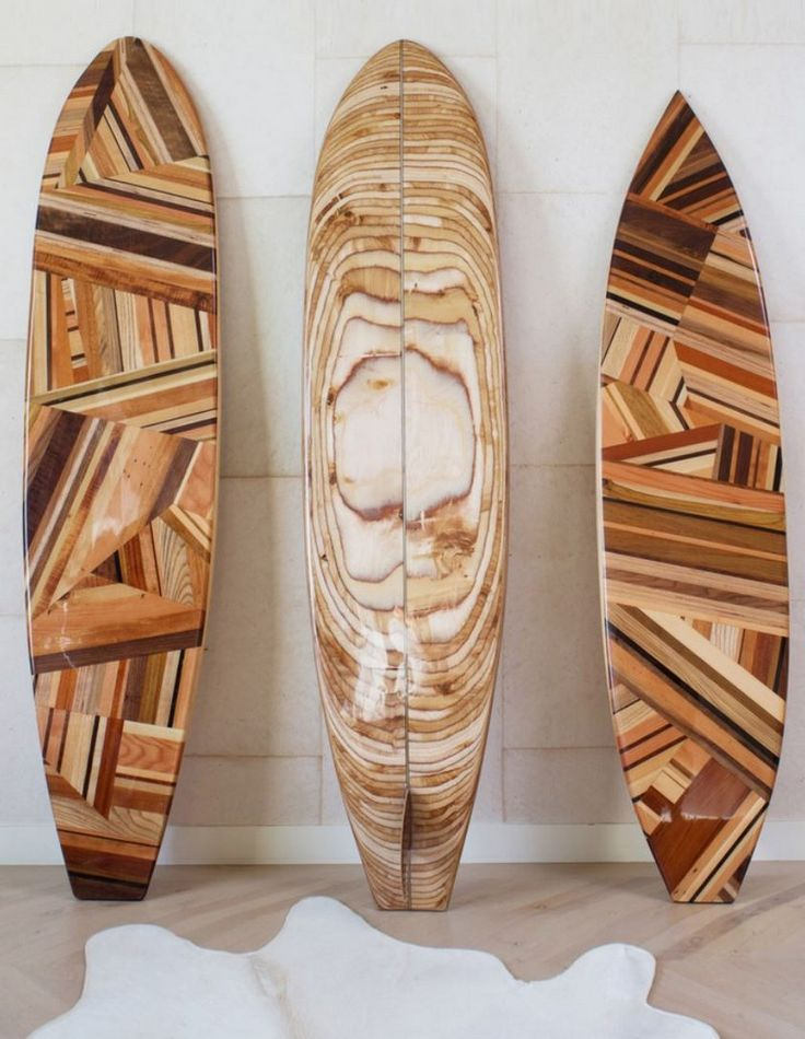 Amazing Surfboard Sculptures by Kelly Wearstler.
