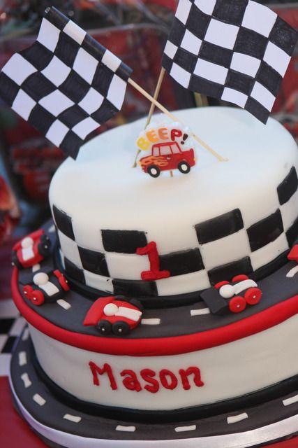 "Photo 5 of 11: v8 Supercars / Birthday ""Mason Robert turns ONE!"" | Catch My Party"