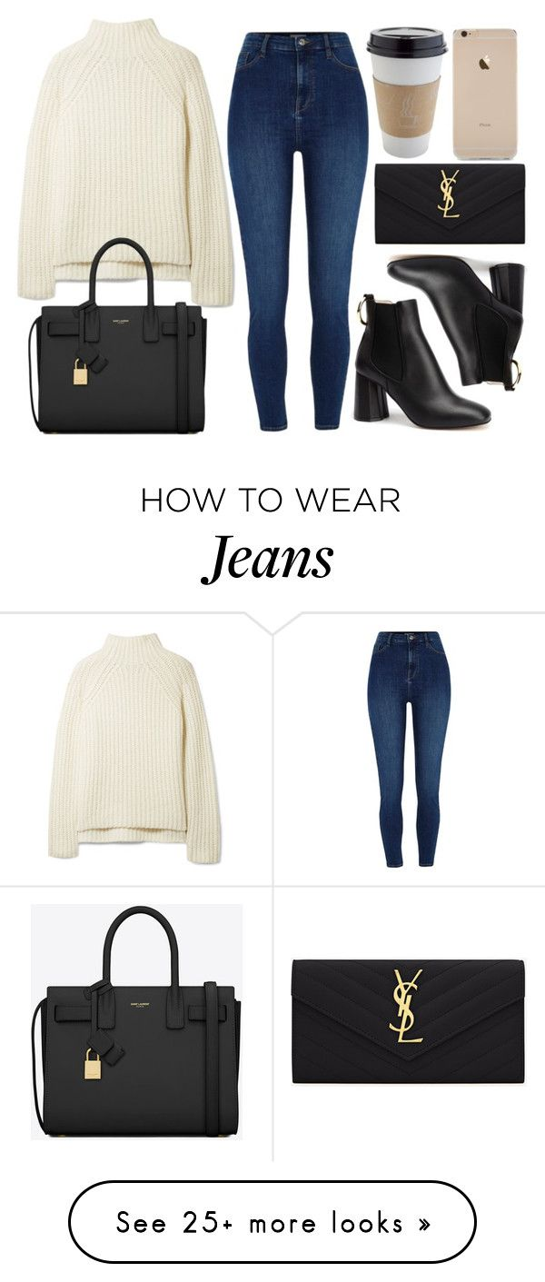 """#14563"" by vany-alvarado on Polyvore featuring Theory and Yves Saint Laurent"