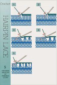 DiaryofaCreativeFanatic: Needlecrafts-Crochet, Hairpin Lace