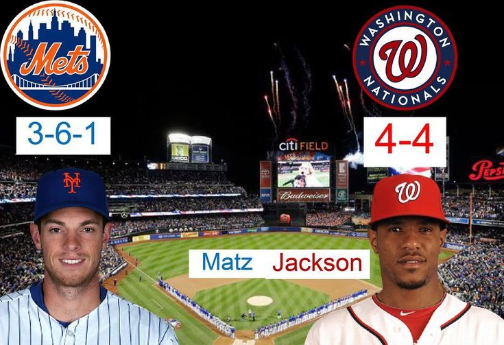 The Mets take on the Nationals today at 1:10 PM. ______________________________ On the mound for the Nationals is Jackson. For the Mets is Matz. He pitched an awful game his last start. Hopefully he will do better today. ______________________________ Why are the Nationals not doing amazing like they did last season? Let me know in the comments ______________________________ #mets #nyc #baseball