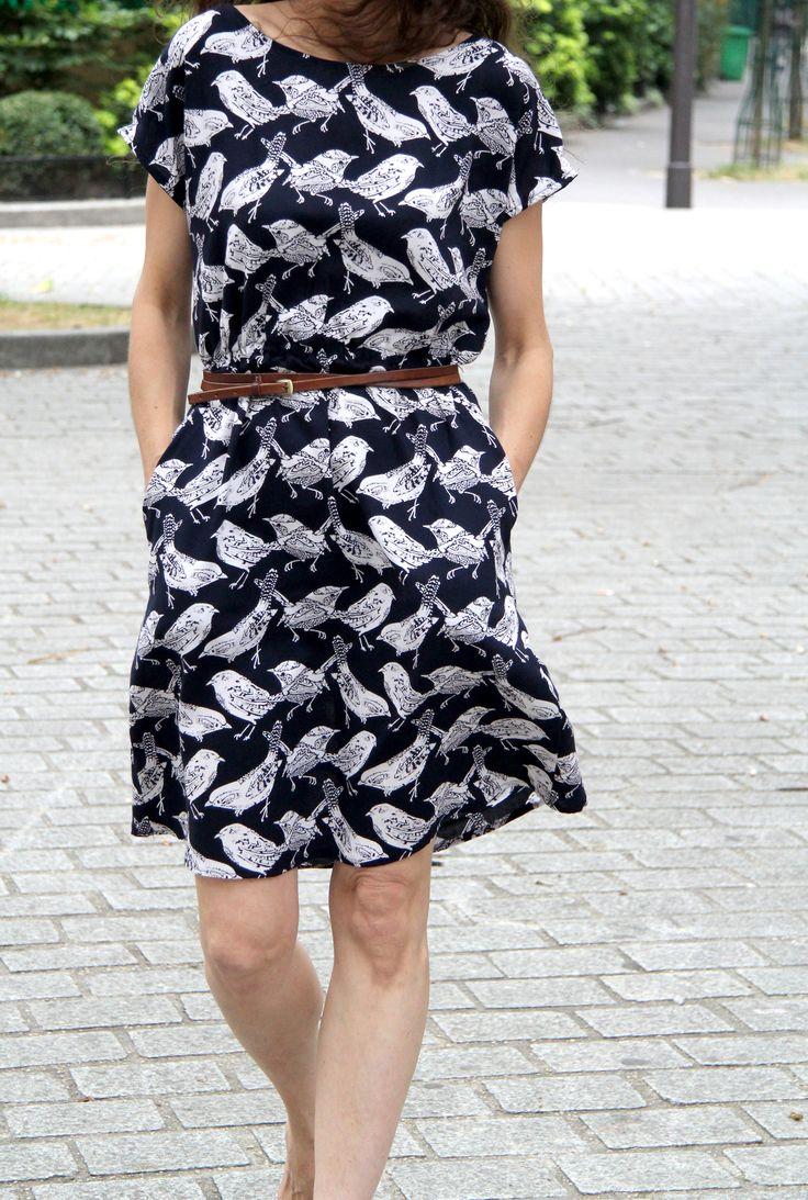 The Staple dress / April rhodes // Tissu Henry et Henriette // Jolies bobines