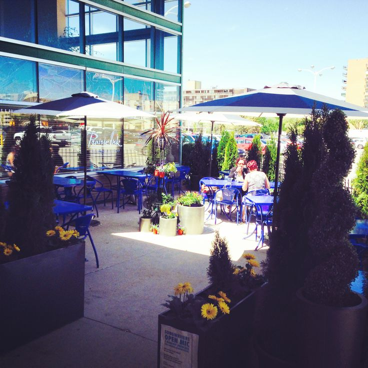 Prairie Ink Winnipeg's patio is NOW OPEN for the season! #patio #summer #alfresco