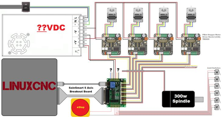 Image result for CNC WIRING DIAGRAM' | Alan | Diagram, Cnc, Stepper on