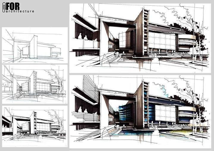 409 Best Images About Sketching Rendering Architectural