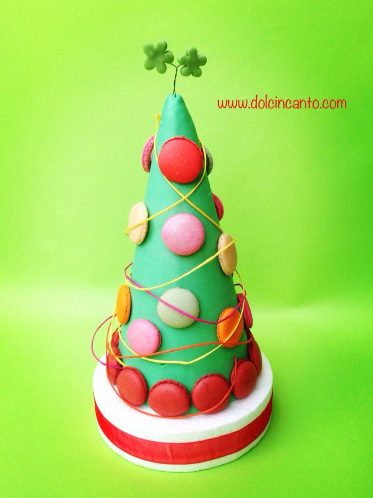 Piramide/albero di macarons