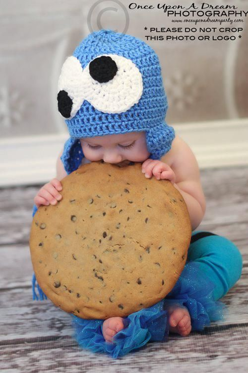 real giant cookie baked by her momma. She LOVED it!