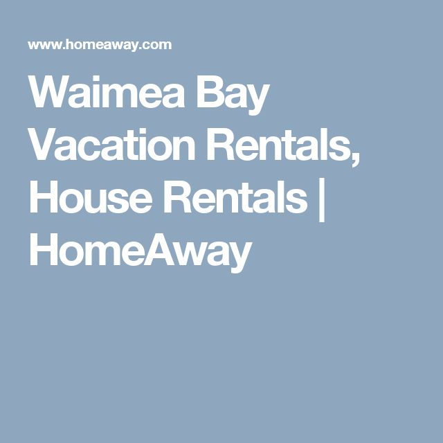 Waimea Bay Vacation Rentals, House Rentals | HomeAway