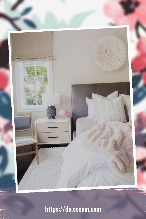 Elegante Schlafzimmer Deko