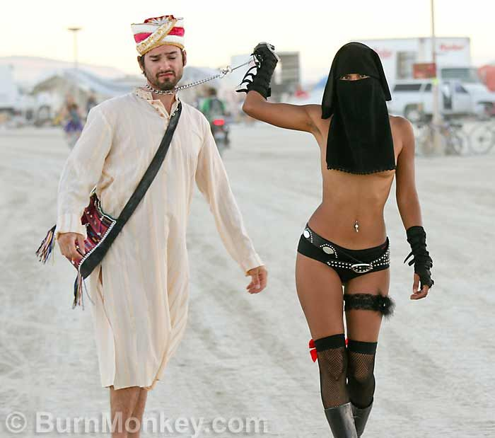 Burning Man Festival Women | Persian Power Trip - Click to enlarge