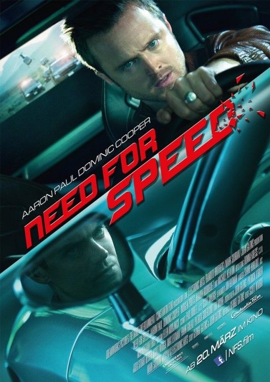 Need for Speed Movie Poster Fingers crossed, Waited for this movie all my life