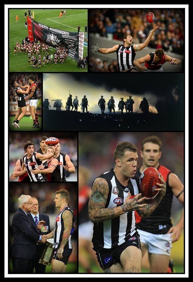 Excellent ANZAC day. The Mighty Pies kicked butt bring it on.
