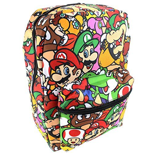 Disney Marvel Nintendo 16 inch Backpack (Super Mario) Dis... https://www.amazon.com/dp/B01GOKTJ9C/ref=cm_sw_r_pi_dp_C9fyxbFH3F4XE