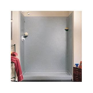 <strong>Swanstone</strong> Classics Three Panels Shower Wall Kit