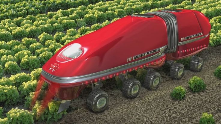 Future Latest Intelligent Technology World Amazing Modern Agriculture He...