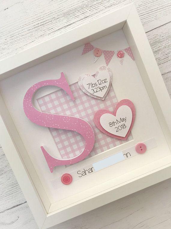 Baby Girl Gift New Baby Gift Personalised Baby Gift Baby Keepsake