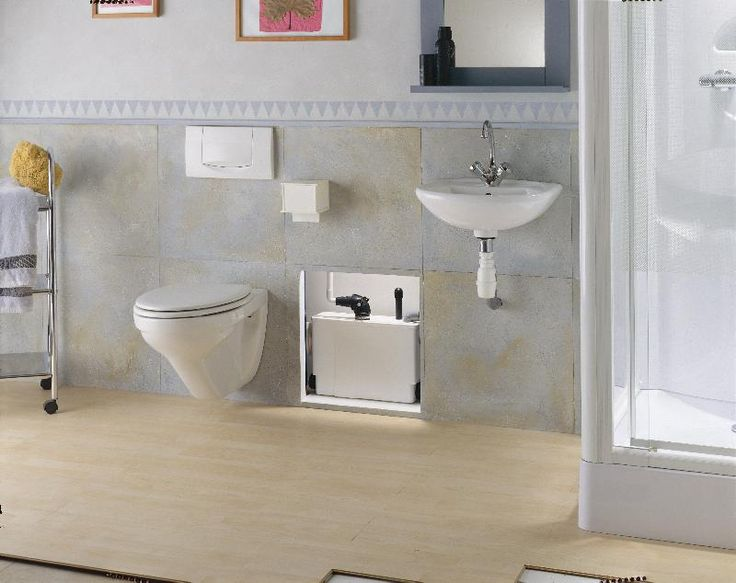 Captivating Saniflo SANIPACK Macerating Wall Mount Toilet Pump 011