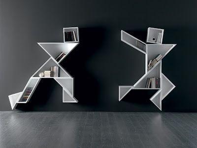 Innovative Bookshelves 193 best design ~ creative shelves images on pinterest   home