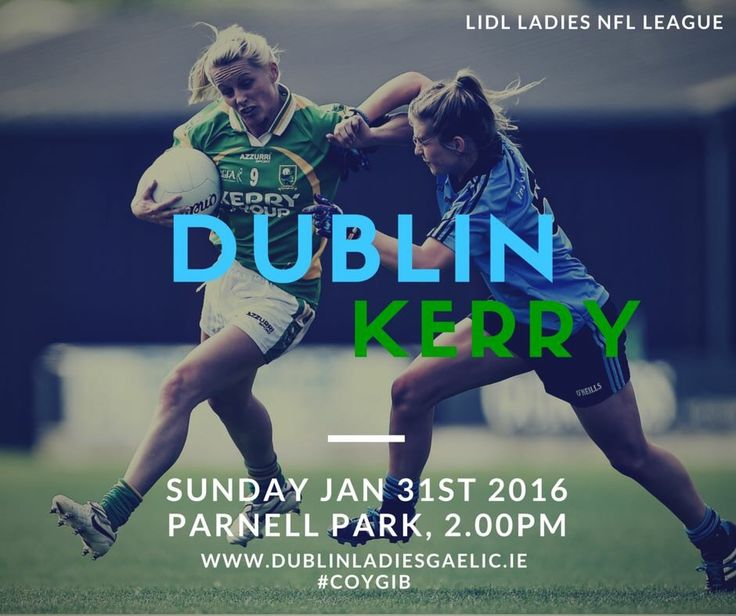 We Are Dublin DUBLIN TO PLAY ALL HOME LIDL LADIES NFL FIXTURES IN PARNELL PARK - We Are Dublin