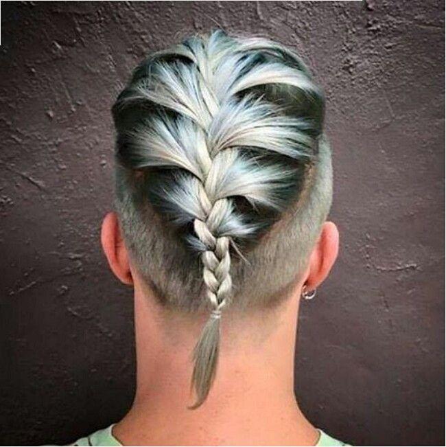 Trecce ai capelli, ormai è una cosa da uomini