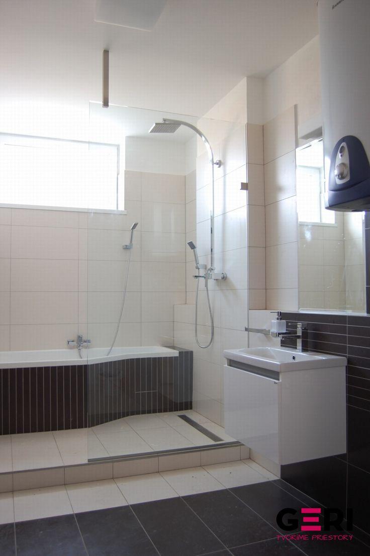 Sklenená sprchovacia zástena Bratislava