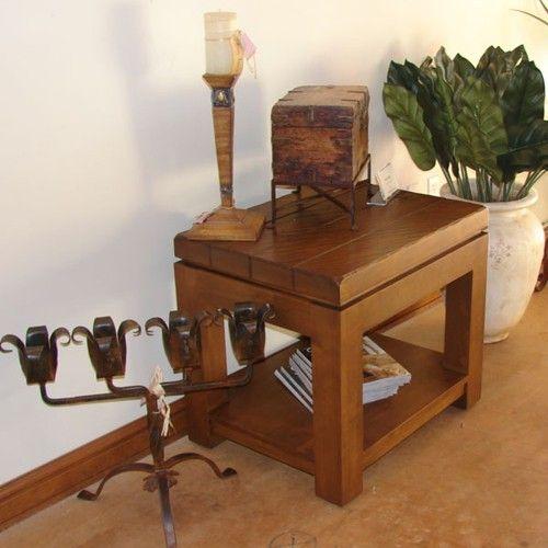 Marvelous Brazos End Table   Ernest Thompson Furniture