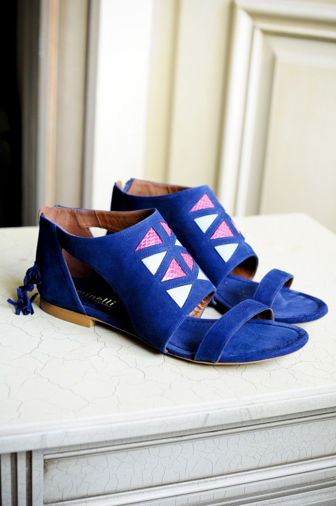 Punky B & Minelli. There is something weird but cute about these shoes