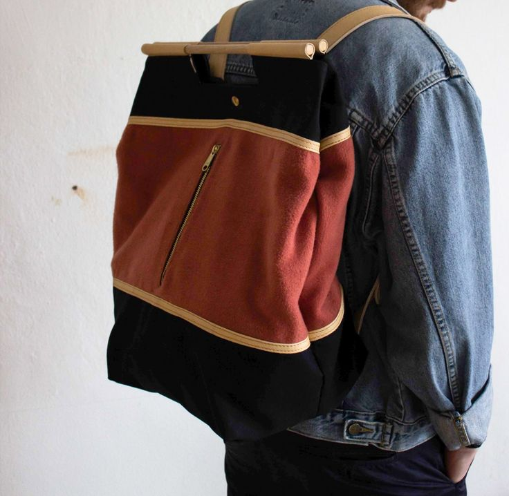 Le Timbre Handmade Backpack
