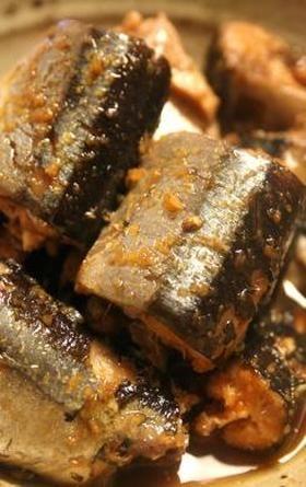 圧力鍋で骨まで食べられるさんまの生姜煮