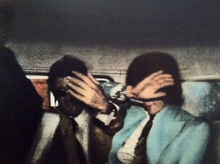 Richard Hamilton, 'Swingeing London 67'; Mick Jagger and Robert Fraser being arrested for drug possession. Pop Art Britànic