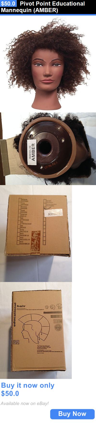Hair and Makeup Mannequins: Pivot Point Educational Mannequin (Amber) BUY IT NOW ONLY: $50.0