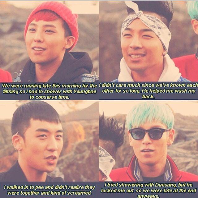 Big Bang on Running Man. Omg these guys kill me lol.