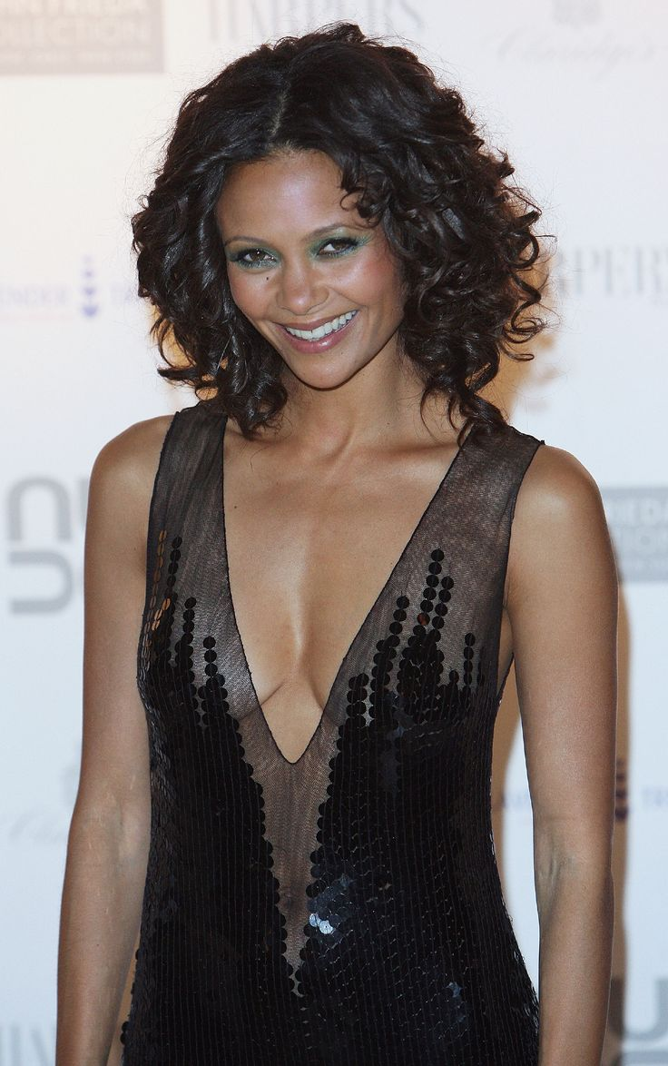 Thandie Newton Gorgeous Hair Celebrity Hairstyles