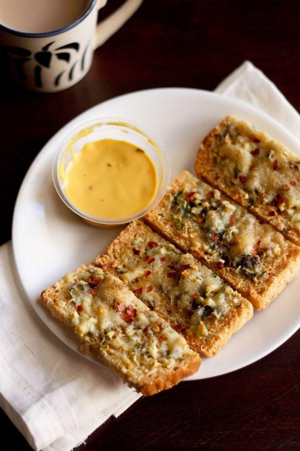 cheese garlic toast recipe, how to make cheese garlic toast recipe