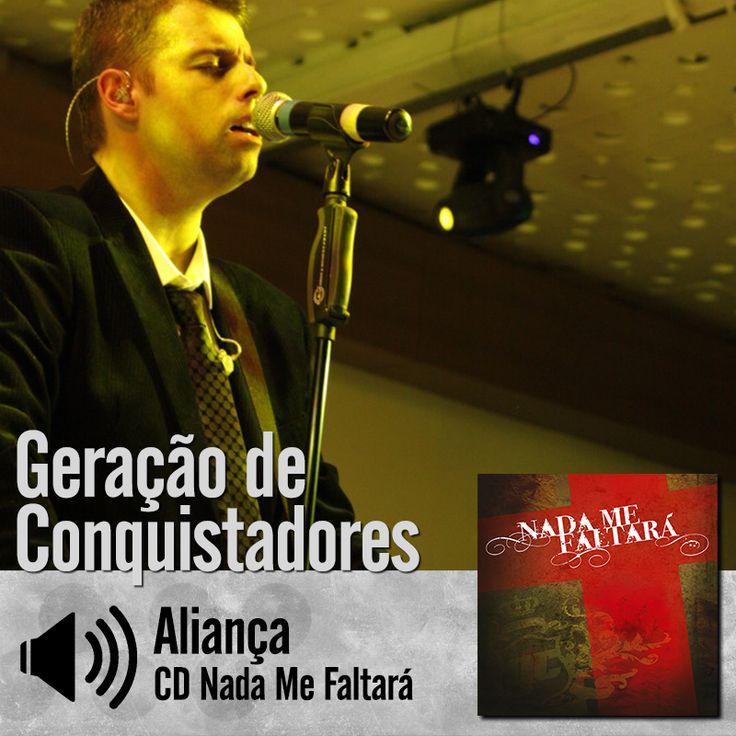 """Escute a música """"Aliança"""" do CD Nada Me Faltará do Ministério Geração de Conquistadores - Roberto Costa: http://itbmusic.com.br/site/wp-content/uploads/2013/06/02-Alian%C3%A7a.mp3?utm_campaign=musicas-itb&utm_medium=post-20jun&utm_source=pinterest&utm_content=gc-alianca-player-trecho"""