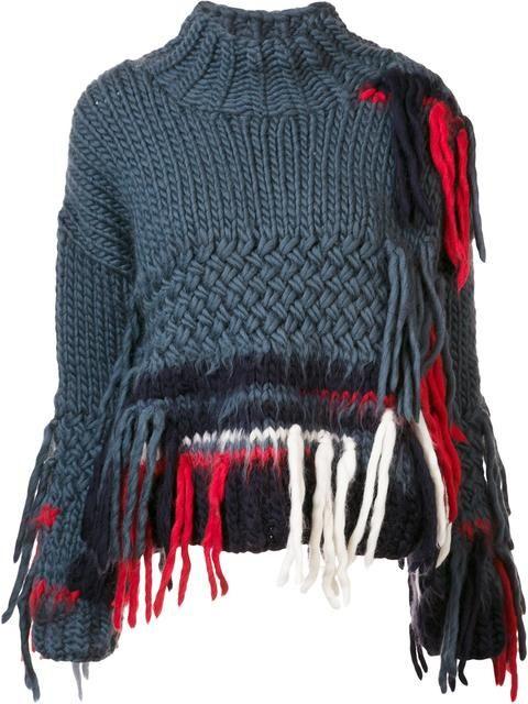 Christopher Raeburn 'X The Woolmark Company Hand' sweater