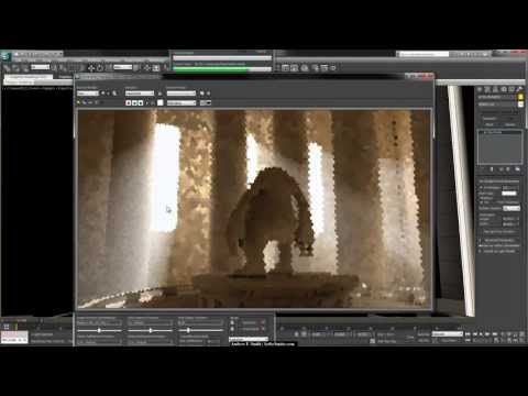 3Ds Max Tutorial, Rendering Volume Light