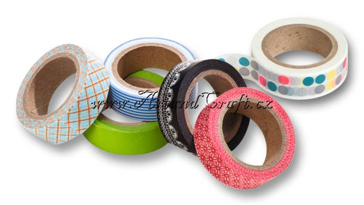 Washi tapes... http://www.artandcraft.cz/