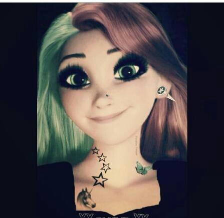 Punk Rapunzel <3