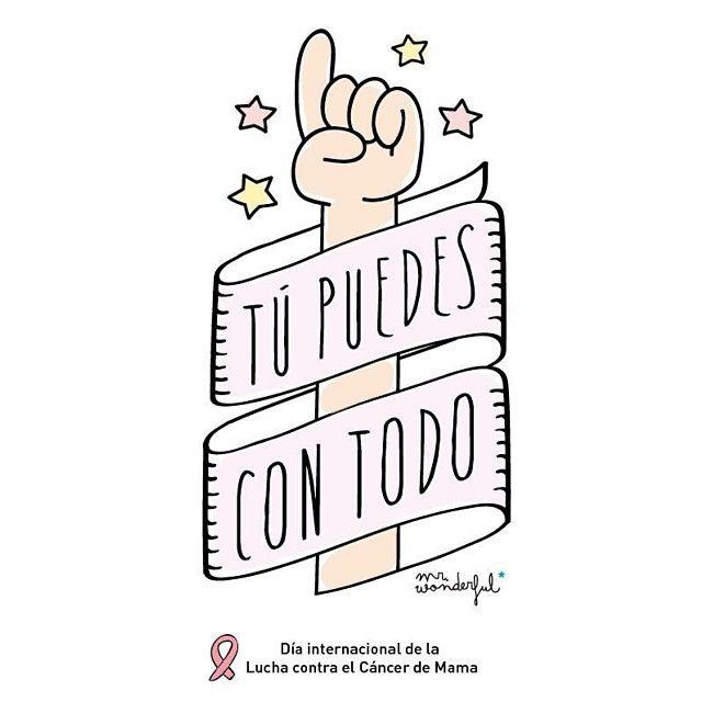 Día internacional de la Lucha contra el Cáncer de Mama. -by Mr. Wonderful*