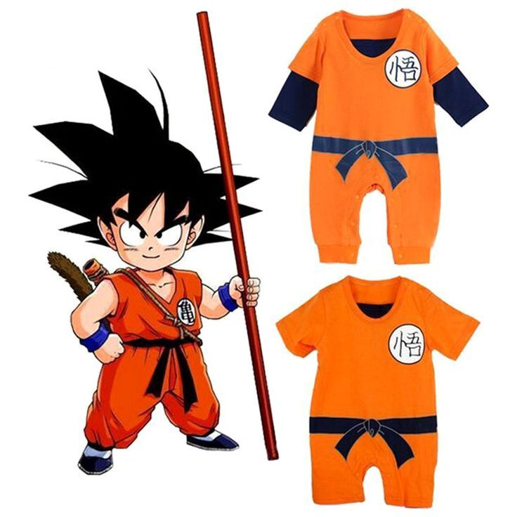 Dragon Ball Baby Rompers Newborn Baby Boys Clothes Son Goku Toddler Jumpsuit Bebes Halloween Costumes For Baby Bo Baby Kostum Baby Outfit Junge Jungen Kleidung