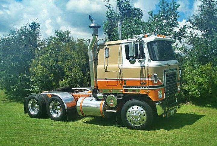 Antique International Harvester Semi Tractor : Images about international trucks on pinterest