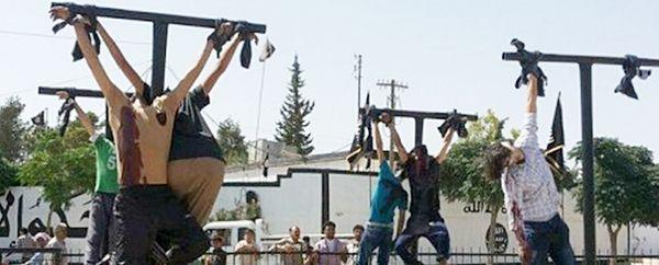 Cristãos são crucificados na Síria por não renunciar fé Cristã